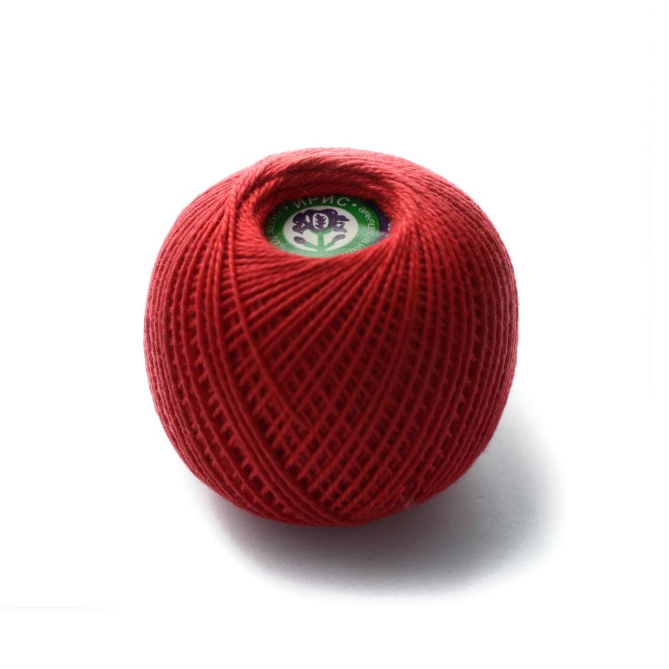 Красные нитки для вязания 74