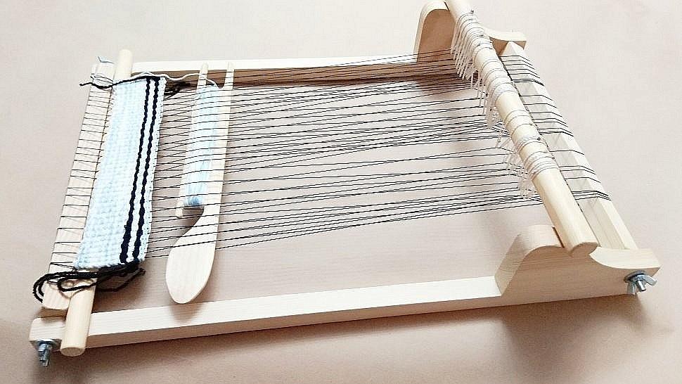 сборка ткацкой рамы