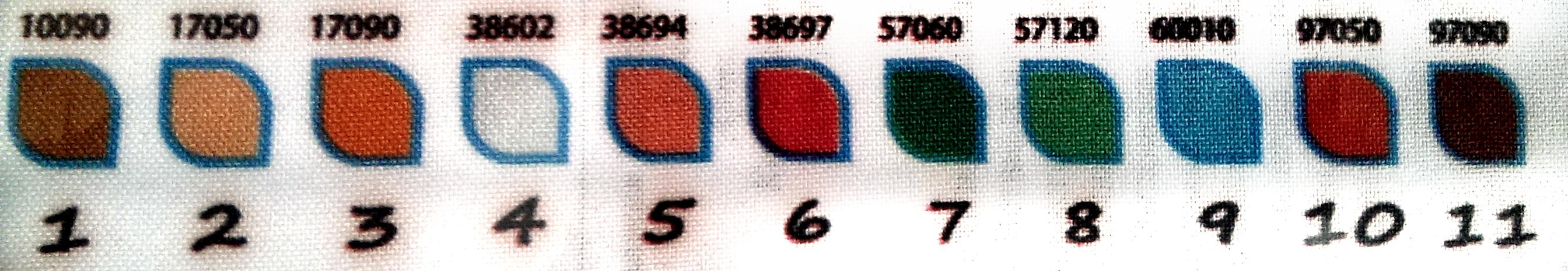 Номера бисера к вышивками 996